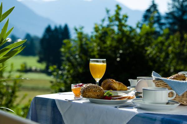 Frühstück Landhaus Bergwald